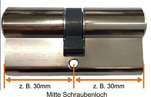 BKS Schließzylinder Serie 50 livius mit Not- und Gefahrenfunktion + 3 Schlüssel - 3