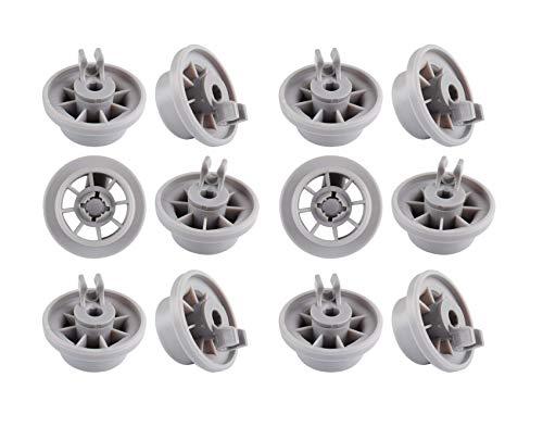 Ruote Cestello Lavastoviglie Rotella Bosch clip 165314 per Bosch Neff Siemens Lavastoviglie Rack inferiore AP2802428 PS3439123 Parte di ricambio 12 PZ