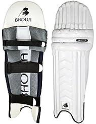 Espinilleras para bateador de críquet, Test estándar, peso ligero del tamaño de la, diseño único, Hombres diestros