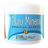 Polvere Pediluvio con Cristallo di Ammonio - Allume Puro Mineral - Rimedio ideale per calli e piedi gonfi - Elimina dolori e cattivi odori - 100% naturale