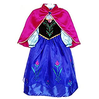 About Time Co Girls' Princess Snow Cape Fancy Dress (3-4 years)