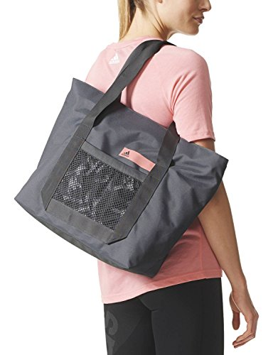 Adidas Good Tote G2 Tasche grey five/mystery ruby/grey five