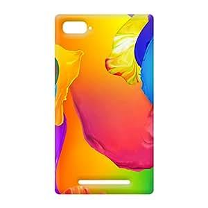 100 Degree Celsius Back Cover for Xiaomi Mi 4i (Designer Printed Multicolor)