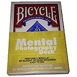ورق لعب مينتال فوتوغرافي تظهر فارغة ثم تظهر ملونه خاصة بالخدع السحرية - خدع سحرية