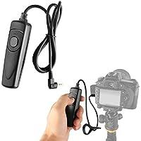 LXH filaire télécommande déclencheur cordon pour Canon T5i T4i T2i T1i T6s T6i T3i T5 T3 XT XTi XS XSi 60D G16 G15 G12 G11 G10 GX 70D 60Da 60D 760D 100D 550D 110 remplacement pour RS-60E3