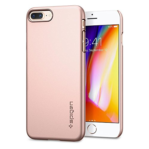 Spigen Delgado Ajuste Funda Apple Iphone 8 Plus 7 Protectora Mucho