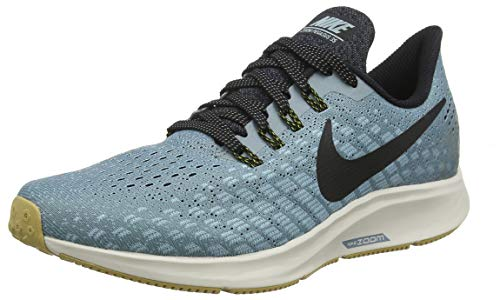 Nike Air Zoom Pegasus 35, Scarpe da Running Uomo, Blu (Aviator Grey/Black/Blue Fury 015), 40 EU