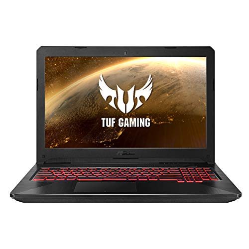 ASUS TUF Gaming FX504GM-EN479 Ordenador portatil 15.6' FullHD (Intel Core i7-8750H, 8GB RAM, 256GB SSD, GTX1060-6GB, Sin sistema operativo) Negro - Teclado QWERTY Español
