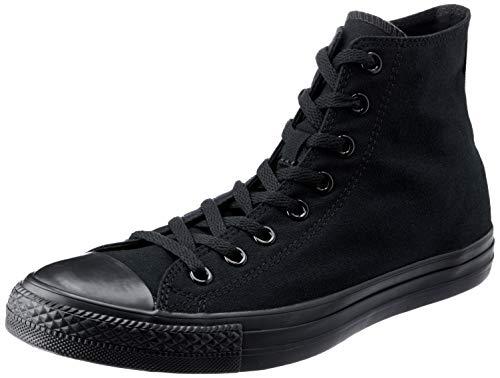 Converse Unisex-Erwachsene Chuck Taylor All Star - HI Fitnessschuhe Schwarz (Black Monochrome 006) 45 EU