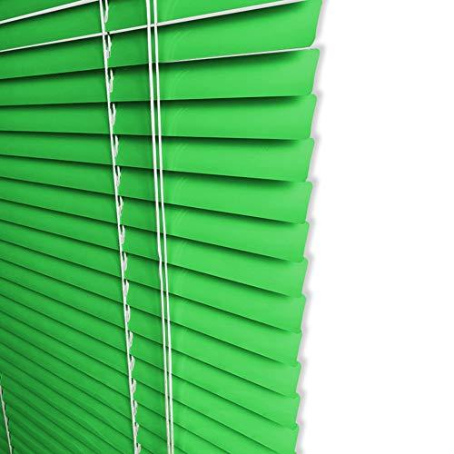 Jalousien Grünes Horizontales Fenster-Mini-Vorhang-Stromausfall, Aluminiumprivatleben-Farbton Anti-UV Für Schlafzimmer-Küche-Badezimmer, 100cm / 120cm / 130cm Breit (Size : 100x180cm(39