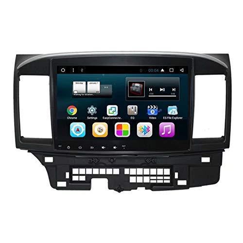TOPNAVI 10.1Inch voiture multimédia pour Mitsubishi Lancer EX 2010 2011 2012 2013 2014 2015 2016 Android 7.1 Auto navigation GPS Radio voiture stéréo avec 16 Go de ROM 1 Go de RAM WIFI 3G RDS Lien de liaison FM AM BT