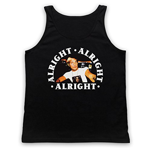 Dazed And Confused Alright Alright Alright Tank-Top Weste Schwarz