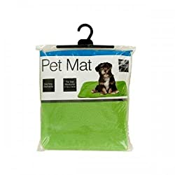 Plush Pet Mat With Anti-slip Bottom (pack of 2)