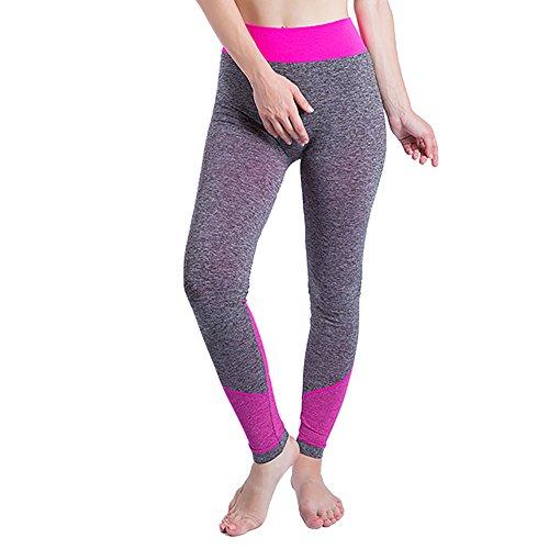 YWLINK Damen Einfach Gym Yoga Patchwork Sport LäUft -