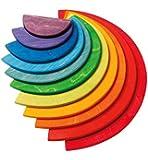 Grimm's Großes Regenbogen-Halbkreise Bauset
