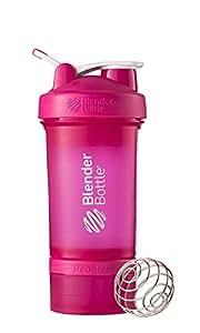 Blender Bottle ProStak Gourde secoueur avec boîtes supplémentaires 100/150 ml + compartiment à pilules 650 ml