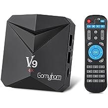 TV Box Android 7.1[3GB+32GB]Smart TV Box Octa Core Amlogic S912(H.265/3D/4K HD) Wi-Fi 2.4G/5G Doppia Banda Bluetooth 4.0, 2*USB/HDMI/AV/Carta TF