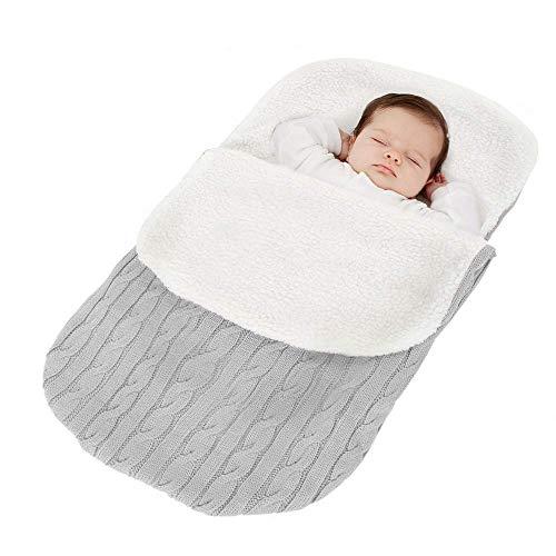 Tukistore Recién Nacido Bebé Tejido Punto Envoltura