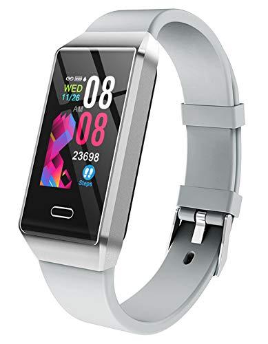 Smart-Armband, Schritt für Schritt wasserdichte Informationen Push-Schrittzähler Fitness-Armband, geeignet für Android Ios Handy für Männer und Frauen-B