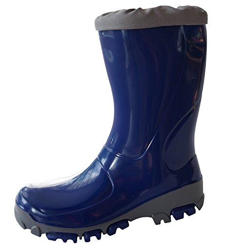 Muflon Girls Wellies Kids children Boys Rainboots Unisex Wellington Boots