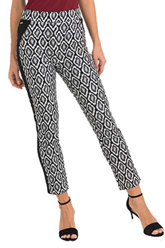 Joseph Ribkoff Black & White Pants Style - 193738 Fall 2019 Collection