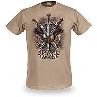 Lo Hobbit - Battle of Five Armies - Motivo delle spade tratto da La Battaglia delle 5 Armate - Con licenza ufficiale