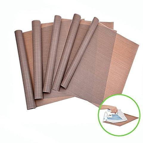 Dauerbackfolie, Backpapier Backmatte Backfolie Hitze Druck Transfer Blatt Antihaft Handwerk