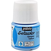 Pebeo Setacolor - Pintura para tejidos (45mm), color azul