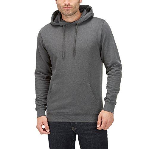 Charles Wilson Essential Pullover Hoody (Charcoal, Medium)