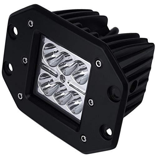 LED 3 Zoll LED Arbeitsleuchte 18W 2Pz LED Scheinwerfer Offroad Rückfahrlicht LED Rückfahrlicht LED Stoßstangenbeleuchtung Stoßstangenbeleuchtung für Jeep Polaris ATV UTV SUV Traktor -