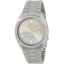 Seiko SNXS75K1 - Reloj con correa de acero para hombre, color plateado / gris