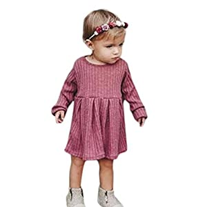 Ears 12M-4T Autumn Baby Child Toddler Girls Clothing Toddler Infant Baby Girls Long Sleeves Kids Clothing Princess Dresses