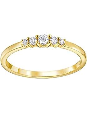 Swarovski Frisson Ring gelbgold plattiert 5251691