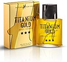 H pour Homme Eau de Toilette Titanium Gold  75ml
