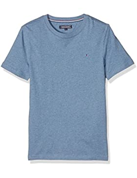 Tommy Hilfiger Original Cn tee S/S, Camiseta para Niños