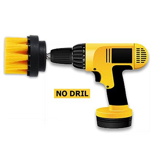 OxoxO 2-Zoll-Power Scrubbing Brush Bohraufsatz f¨¹r die Reinigung von Duschen, Wannen, B?der, Fliesen, Fugen, Teppich, Reifen, Boote
