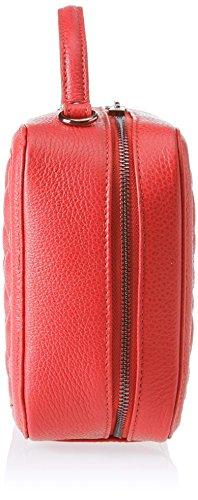 Chicca Borse 8891, Borsa a Spalla Donna, 26x19x10 cm (W x H x L) Rosso