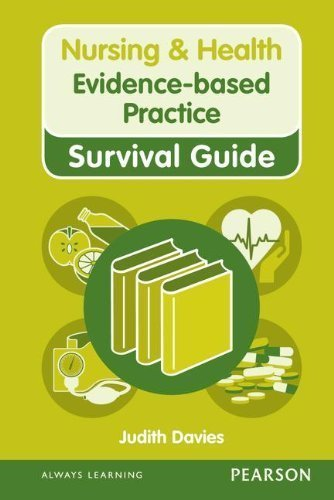 Evidence-based Practice (Nursing and Health Survival Guides) by Davies, Judith (2012) Spiral-bound