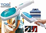 #3: TOBI Handheld Garment Fabric Steamer for Clothes, Portable Powerful Steamer with Fast Heat-up Perfect for Home Travel