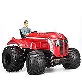 POWER 1:10 2.4G Elektrische RC Traktor Fernbedienung Elektrische Zwei-Antrieb Traktor Mit Multi-Funktion Stunt Buggy Auto