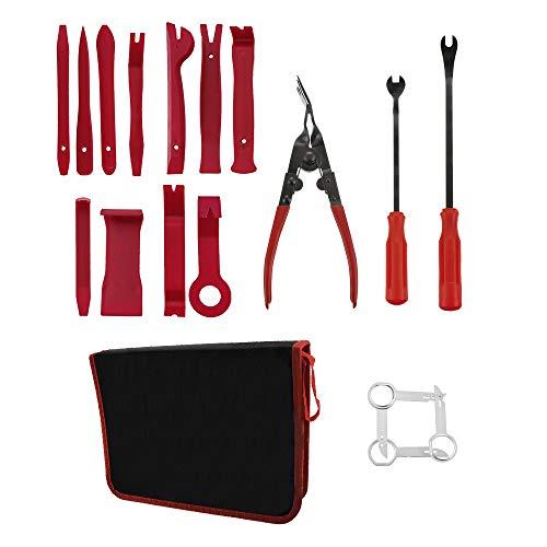 Godagoda Universal Auto KFZ Werkzeug Car Entfernung Tool Set 19PC