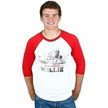 Junk Food niños–Barco de Vapor Willie barco raglán camiseta
