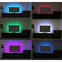 Multi-colore RGB 50cm 50cm LED USB Luce Di Striscia TV LED Sfondo Kit Di Illuminazione Con USB Cavo 30 PZ SMD 5050
