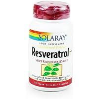 Solaray Resveratrol Plus 75mg 30 Veg Kapseln preisvergleich bei billige-tabletten.eu