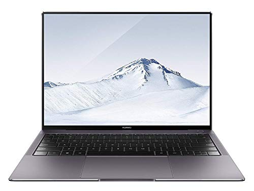 "HUAWEI MateBook X Pro - PC Portable - 13.9"" tactile (Core i7-8550U, RAM 8Go, SSD 512Go, NVIDIA GeForce MX150, Windows 10 Home, Clavier Français AZERTY) – Gris"