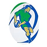 Best CafePress Footies - CafePress - Rugby Ornament (Oval) - Oval Holiday Review