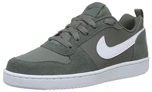 Nike Baby Jungen Court Borough Low Pe (Gs) Basketballschuhe, Grün Mineral Spruce/Pale Ivory 300, 37.5 EU