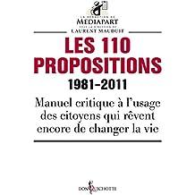 Les 110 propositions. 1981-2011