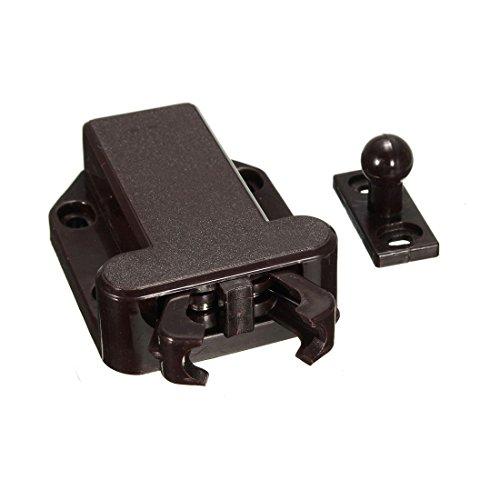 toogoo-r-2x-push-to-open-kaefer-schublade-schrank-latch-catch-touch-freisetzung-schrank-braun