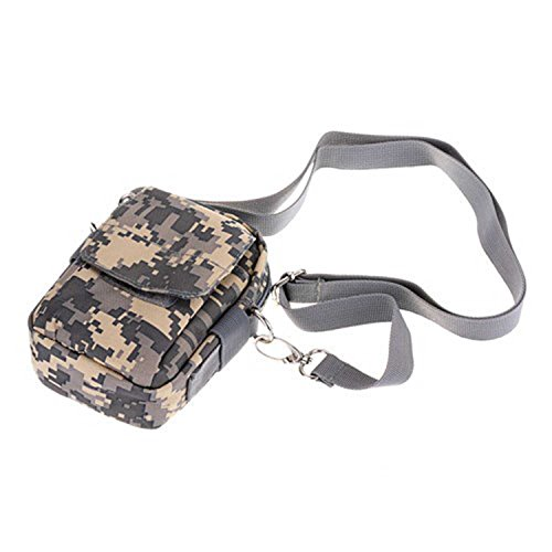 ruifu Outdoor Military Tactical Waist Pack Tasche Wandern Camping Handy Tasche Geldbörse Wasserdicht Verschleißfest ACU